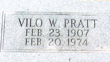 PRATT, VILO W. - Pima County, Arizona | VILO W. PRATT - Arizona Gravestone Photos