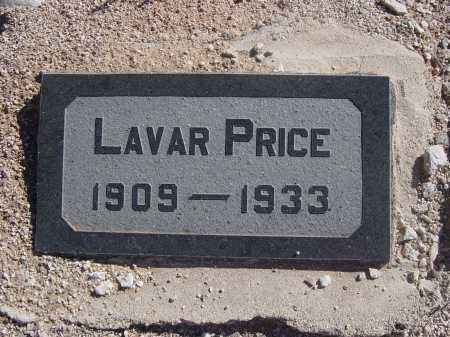 PRICE, LAVAR - Pima County, Arizona | LAVAR PRICE - Arizona Gravestone Photos
