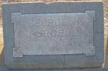PURCELL, GEORGE HENRY - Pima County, Arizona | GEORGE HENRY PURCELL - Arizona Gravestone Photos