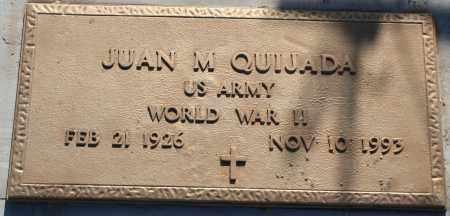 QUIJADA, JUAN M. - Pima County, Arizona | JUAN M. QUIJADA - Arizona Gravestone Photos