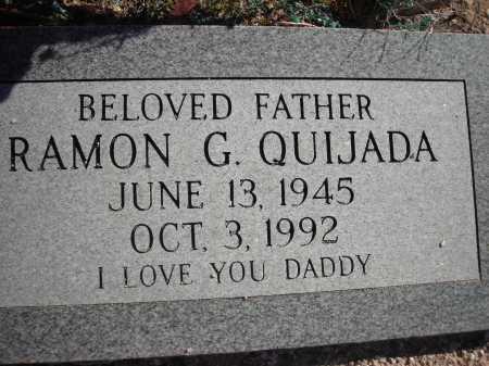 QUIJADA, RAMON G. - Pima County, Arizona | RAMON G. QUIJADA - Arizona Gravestone Photos