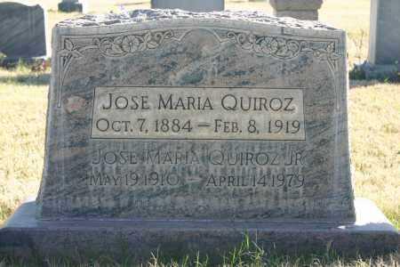 QUIROZ, JOSE MARIA JR - Pima County, Arizona | JOSE MARIA JR QUIROZ - Arizona Gravestone Photos