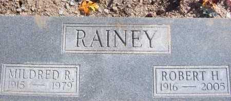 RAINEY, MILDRED R. - Pima County, Arizona | MILDRED R. RAINEY - Arizona Gravestone Photos