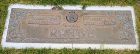 RANGE, CLARENCE M. - Pima County, Arizona | CLARENCE M. RANGE - Arizona Gravestone Photos