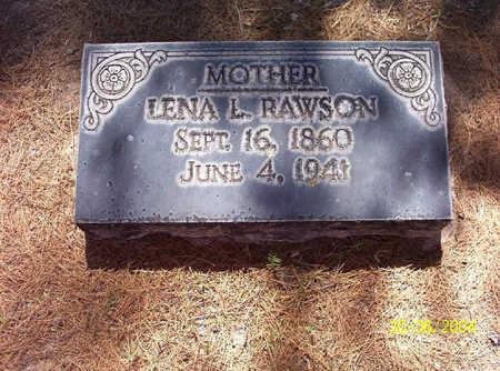 RAWSON, LENA - Pima County, Arizona | LENA RAWSON - Arizona Gravestone Photos