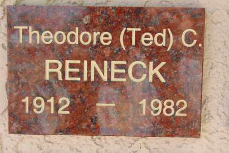 REINECK, THEODORE (TED) C. - Pima County, Arizona   THEODORE (TED) C. REINECK - Arizona Gravestone Photos