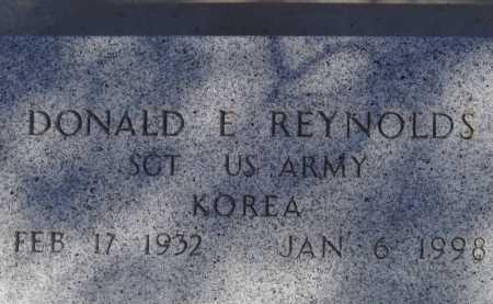 REYNOLDS, DONALD E. - Pima County, Arizona | DONALD E. REYNOLDS - Arizona Gravestone Photos