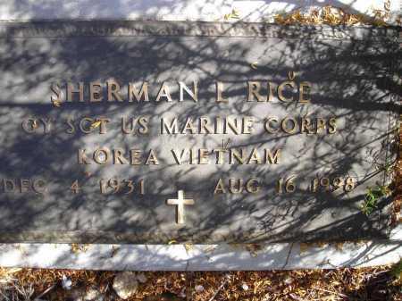 RICE, SHERMAN L. - Pima County, Arizona   SHERMAN L. RICE - Arizona Gravestone Photos