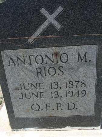 RIOS, ANTONIO M. - Pima County, Arizona   ANTONIO M. RIOS - Arizona Gravestone Photos
