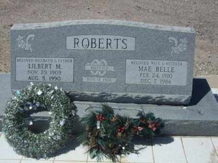 ROBERTS, MAE BELLE - Pima County, Arizona | MAE BELLE ROBERTS - Arizona Gravestone Photos