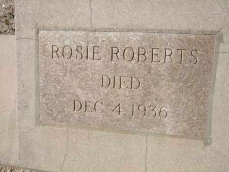 ROBERTS, ROSIE - Pima County, Arizona | ROSIE ROBERTS - Arizona Gravestone Photos