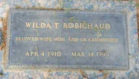 ROBICHAUD, WILDA T. - Pima County, Arizona | WILDA T. ROBICHAUD - Arizona Gravestone Photos
