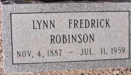 ROBINSON, LYNN FREDRICK - Pima County, Arizona | LYNN FREDRICK ROBINSON - Arizona Gravestone Photos