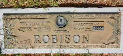 ROBISON, MARION E. - Pima County, Arizona   MARION E. ROBISON - Arizona Gravestone Photos