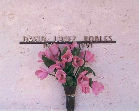 ROBLES, DAVID LOPEZ - Pima County, Arizona | DAVID LOPEZ ROBLES - Arizona Gravestone Photos