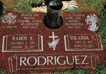 RODRIGUEZ, YOLANDA N. - Pima County, Arizona | YOLANDA N. RODRIGUEZ - Arizona Gravestone Photos