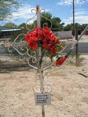 ROMERO, ENRIQUE - Pima County, Arizona | ENRIQUE ROMERO - Arizona Gravestone Photos
