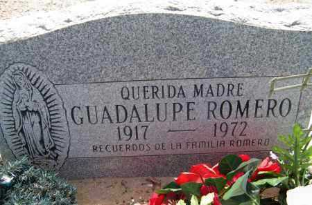 ROMERO, GUADALUPE - Pima County, Arizona | GUADALUPE ROMERO - Arizona Gravestone Photos