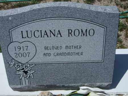 ROMO, LUCIANA - Pima County, Arizona | LUCIANA ROMO - Arizona Gravestone Photos