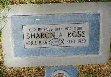 ROSS, SHARON A. - Pima County, Arizona | SHARON A. ROSS - Arizona Gravestone Photos