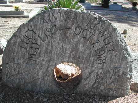 ROWLEY, LUCY ALVINA - Pima County, Arizona | LUCY ALVINA ROWLEY - Arizona Gravestone Photos