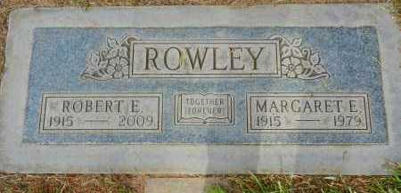 ROWLEY, ROBERT E. - Pima County, Arizona | ROBERT E. ROWLEY - Arizona Gravestone Photos