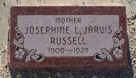JARVIS RUSSELL, JOSEPHINE L - Pima County, Arizona | JOSEPHINE L JARVIS RUSSELL - Arizona Gravestone Photos