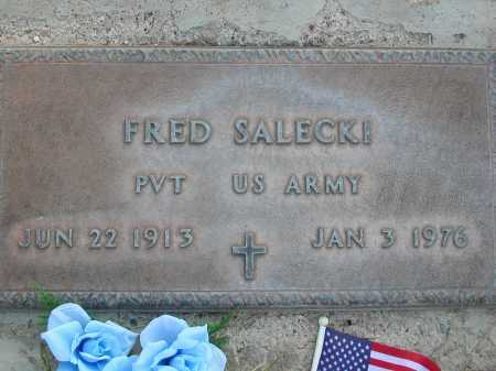 SALECKI, FRED - Pima County, Arizona | FRED SALECKI - Arizona Gravestone Photos