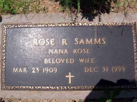 SAMMS, ROSE R. - Pima County, Arizona   ROSE R. SAMMS - Arizona Gravestone Photos