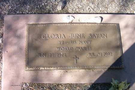 SAYAN, GLORIA JUNE - Pima County, Arizona | GLORIA JUNE SAYAN - Arizona Gravestone Photos
