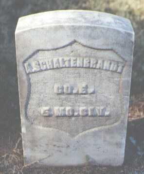 SCHALTENBRANDT, A. - Pima County, Arizona   A. SCHALTENBRANDT - Arizona Gravestone Photos