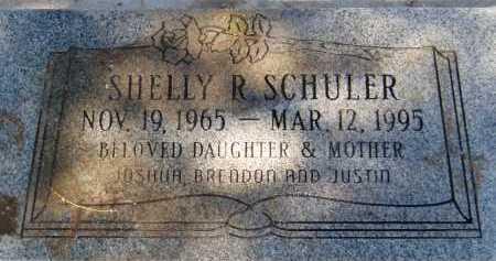 SCHULER, SHELLY R. - Pima County, Arizona   SHELLY R. SCHULER - Arizona Gravestone Photos