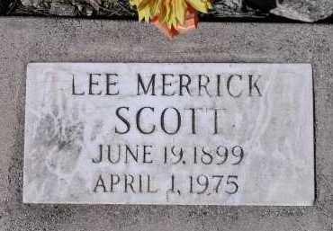 SCOTT, LEE MERRICK - Pima County, Arizona | LEE MERRICK SCOTT - Arizona Gravestone Photos