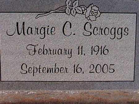 SCROGGS, MARGIE C. - Pima County, Arizona | MARGIE C. SCROGGS - Arizona Gravestone Photos