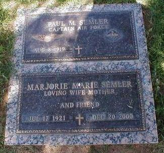 SEMLER, MARJORIE MARIE - Pima County, Arizona | MARJORIE MARIE SEMLER - Arizona Gravestone Photos