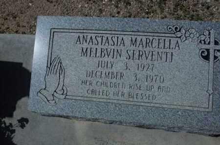 SERVENTI, ANASTASIA MARCELLA - Pima County, Arizona | ANASTASIA MARCELLA SERVENTI - Arizona Gravestone Photos