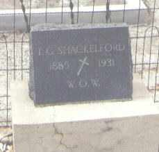 SHACKELFORD, T. G. - Pima County, Arizona | T. G. SHACKELFORD - Arizona Gravestone Photos