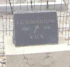 SHACKELFORD, T. G. - Pima County, Arizona   T. G. SHACKELFORD - Arizona Gravestone Photos
