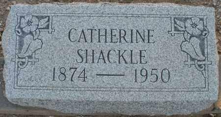 SHACKLE, CATHERINE - Pima County, Arizona | CATHERINE SHACKLE - Arizona Gravestone Photos