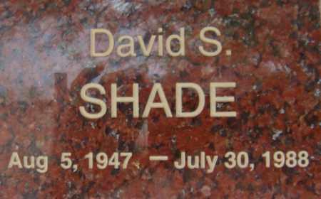 SHADE, DAVID S. - Pima County, Arizona | DAVID S. SHADE - Arizona Gravestone Photos