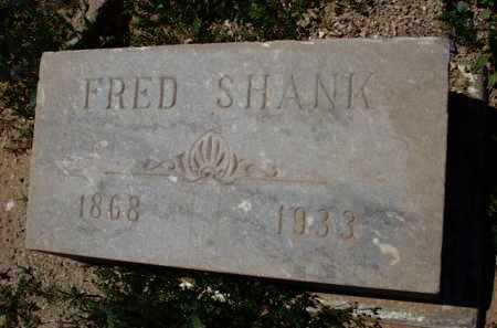 SHANK, FRED - Pima County, Arizona | FRED SHANK - Arizona Gravestone Photos