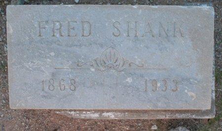 SHANK, FRED - Pima County, Arizona | FRED SHANK - Arizona Gravestone Photos