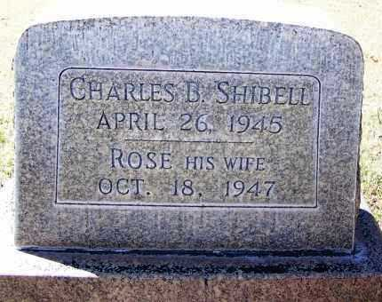 SHIBELL, ROSE - Pima County, Arizona | ROSE SHIBELL - Arizona Gravestone Photos