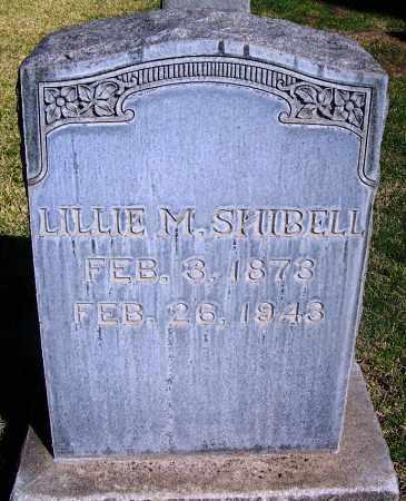 SHIBELL, LILLIE M. - Pima County, Arizona   LILLIE M. SHIBELL - Arizona Gravestone Photos