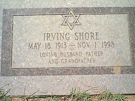 SHORE, IRVING - Pima County, Arizona | IRVING SHORE - Arizona Gravestone Photos