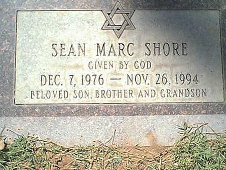 SHORE, SEAN - Pima County, Arizona   SEAN SHORE - Arizona Gravestone Photos