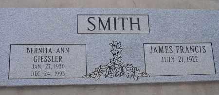 SMITH, JAMES FRANCIS - Pima County, Arizona | JAMES FRANCIS SMITH - Arizona Gravestone Photos