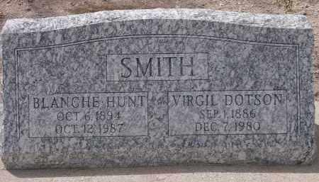 HUNT SMITH, BLANCHE - Pima County, Arizona | BLANCHE HUNT SMITH - Arizona Gravestone Photos