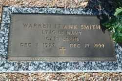 SMITH, WARREN FRANK - Pima County, Arizona | WARREN FRANK SMITH - Arizona Gravestone Photos