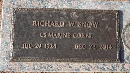 SNOW, RICHARD WENDELL - Pima County, Arizona | RICHARD WENDELL SNOW - Arizona Gravestone Photos